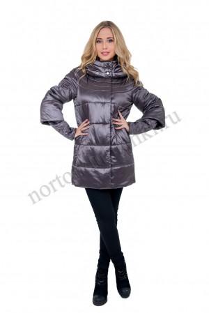 d3747524a48 LAURA BIANCA 903L Женская демисезонная теплая куртка с капюшоном