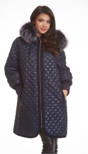 6c9c2aa5a67 LAURA BIANCA LB-315А Зимняя модная куртка с капюшоном и мехом лисы бренда