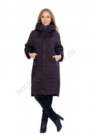 d37b513423f Женское модное полупальто без меха из новой коллекции ALBANA AB- 8610 BUR