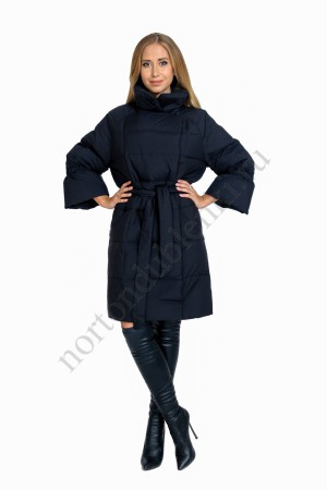 df8198ae388 MIRA WAN 178626 Женское зимнее двубортное пуховое пальто