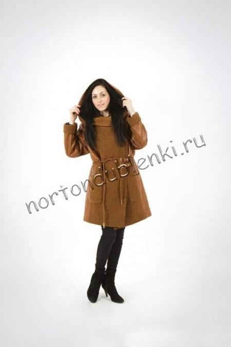 cbad09b0cee Женская кожаная куртка PN-15190-OOS